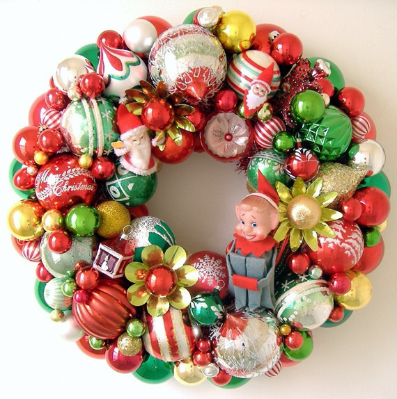 Vintage Christmas ornaments Fresh Vintage Christmas Decorations Wreaths Of Lovely 43 Images Vintage Christmas ornaments