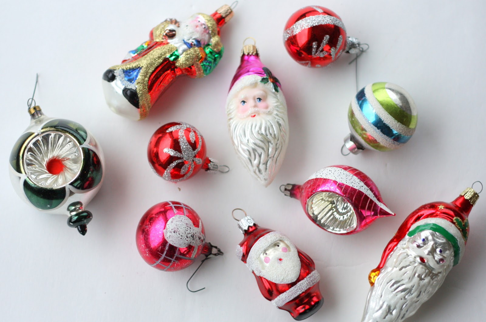 Vintage Christmas Ornaments & s