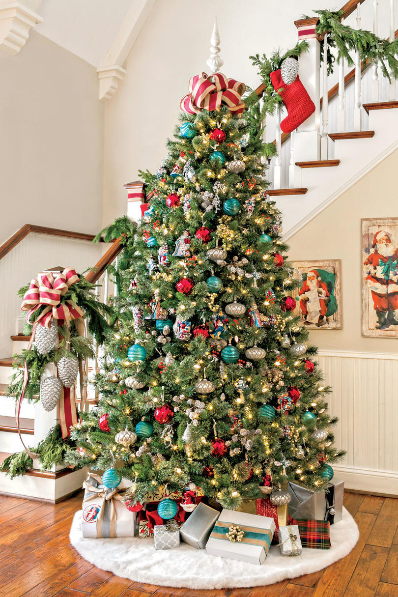 Vintage Christmas Tree New Christmas Tree Decorating Ideas southern Living Of Luxury 47 Pictures Vintage Christmas Tree