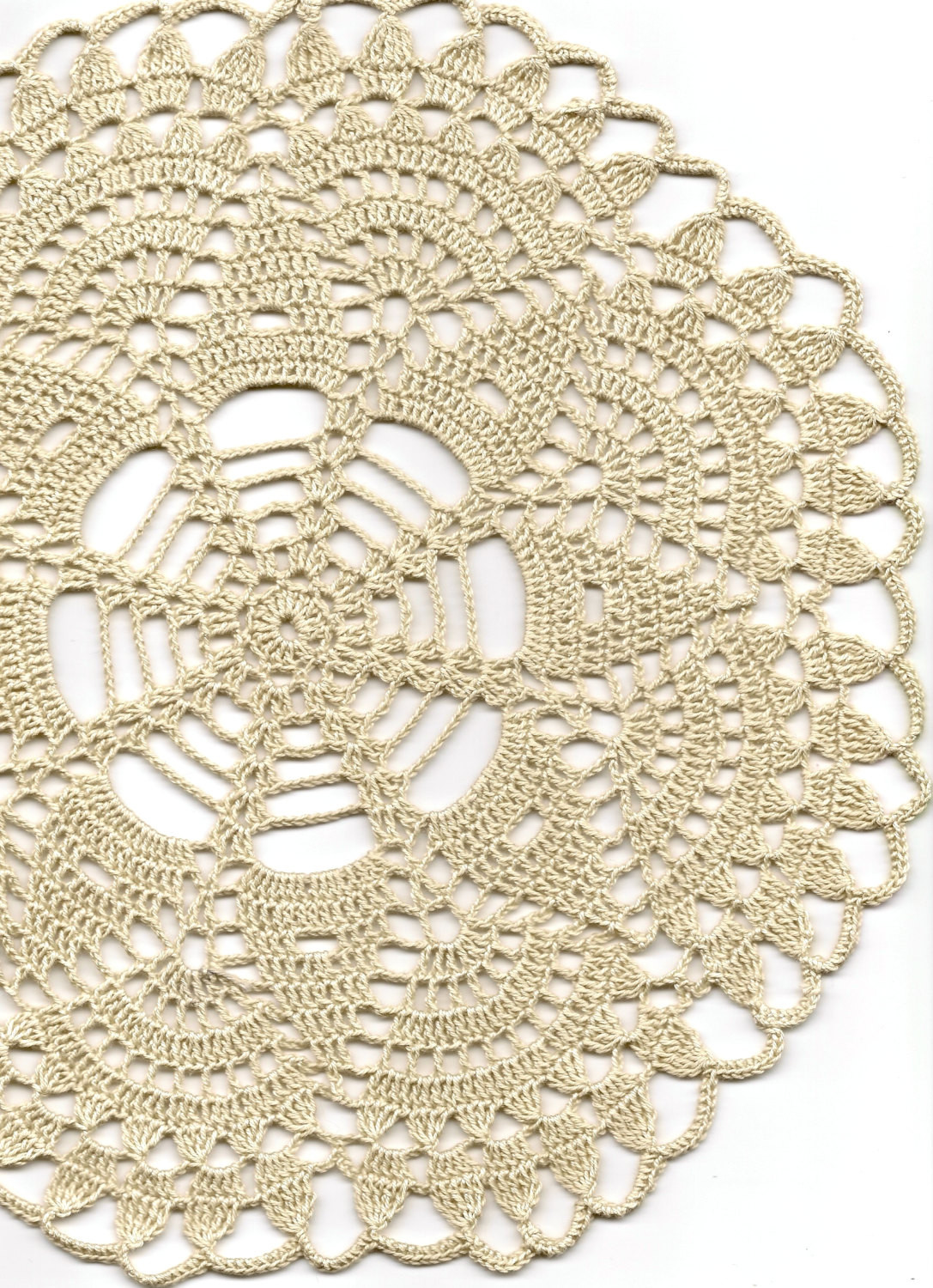 Vintage Crochet Doilies Awesome Crochet Doilies Crocheted Lace Doily Rustic Farmhouse Vintage Of New 45 Models Vintage Crochet Doilies