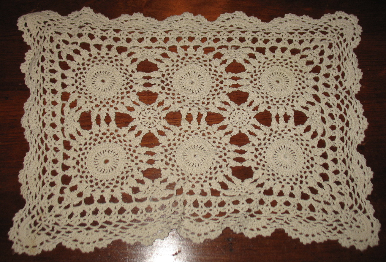 Vintage Crochet Doilies Beautiful 3 Vintage Hand Crocheted Rectangular Doilies Lace Of New 45 Models Vintage Crochet Doilies