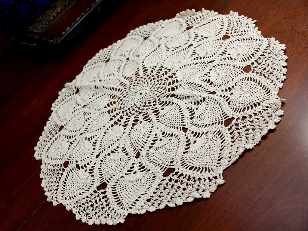 Vintage Crochet Doilies Beautiful Light Ecru Doily Vintage Crochet Doilies Crocheted Of New 45 Models Vintage Crochet Doilies