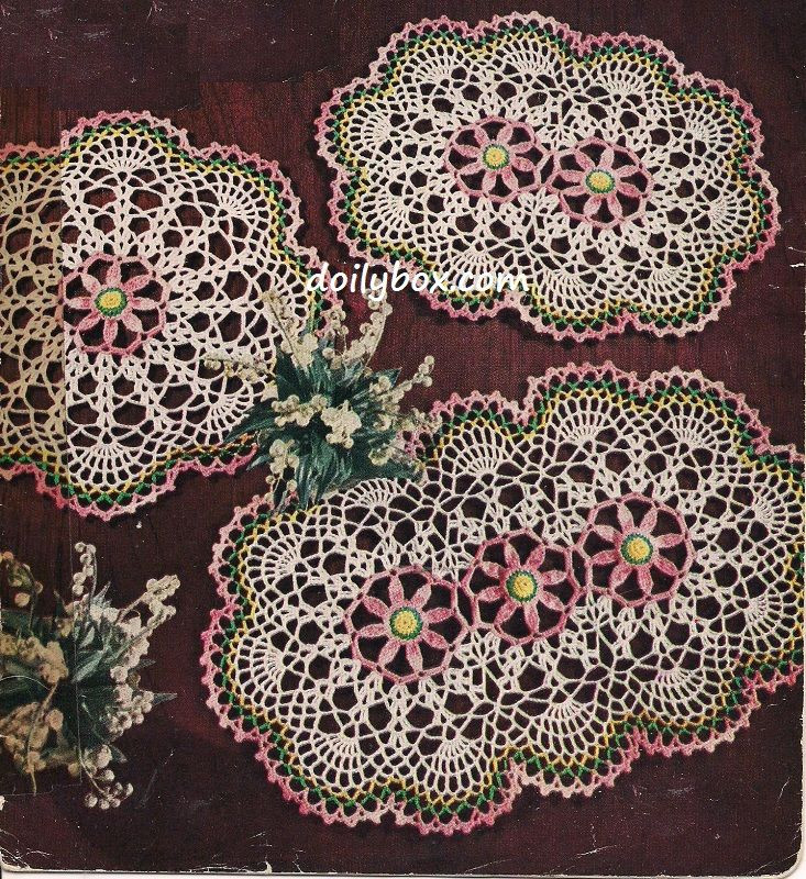 Vintage Crochet Doilies Elegant Free Vintage Crochet Three Way Daisy Doily Pattern Of New 45 Models Vintage Crochet Doilies