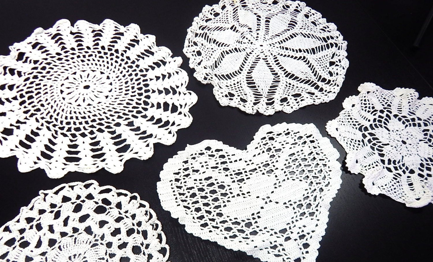 Vintage Crochet Doilies Elegant French Vintage Hand Crocheted Doilies Of New 45 Models Vintage Crochet Doilies