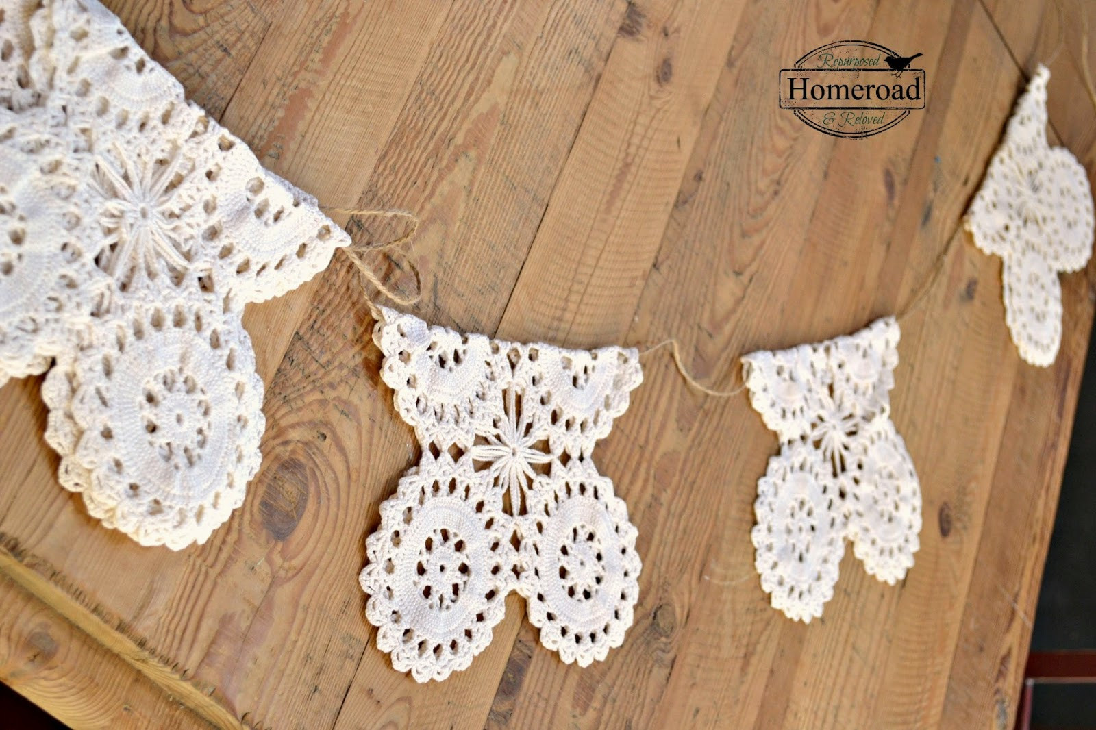 Vintage Crochet Doilies Inspirational Vintage Crocheted Doily Garland Of New 45 Models Vintage Crochet Doilies