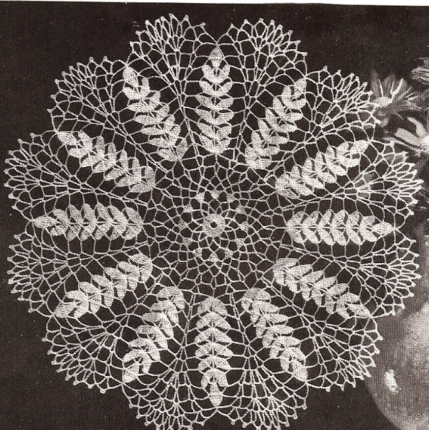 Vintage Crochet Doilies New Vintage Crochet Wheat Sheaf Motif Doily Pattern Mat Of New 45 Models Vintage Crochet Doilies