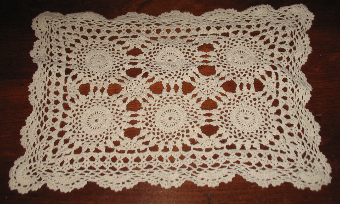 Vintage Crochet Doilies Unique 3 Vintage Hand Crocheted Rectangular Doilies Lace Of New 45 Models Vintage Crochet Doilies