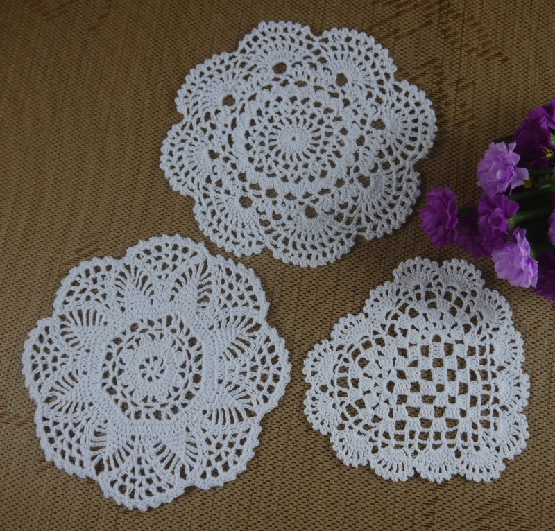 Vintage Crochet Doilies Unique Handmade Crochet Doilies Cotton Cup Mat Pad White Vintage Of New 45 Models Vintage Crochet Doilies