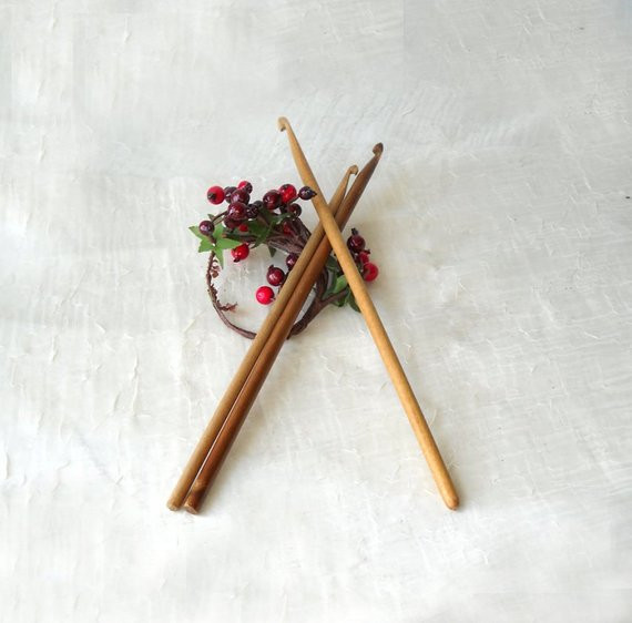 Vintage Crochet Hooks Awesome 3 Vintage Wood Crochet Hooks Craft Supply by Of Awesome 49 Pictures Vintage Crochet Hooks
