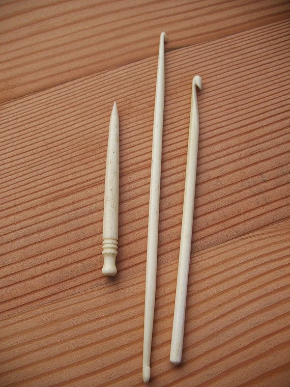 Vintage Crochet Hooks Awesome Antique Ivory Bone Crochet Hooks by Prestonbrowning On Etsy Of Awesome 49 Pictures Vintage Crochet Hooks