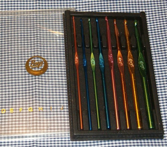 Vintage Crochet Hooks Beautiful Vintage Crochet Hook Set Of 8 Hooks by Boye Color Coded Of Awesome 49 Pictures Vintage Crochet Hooks
