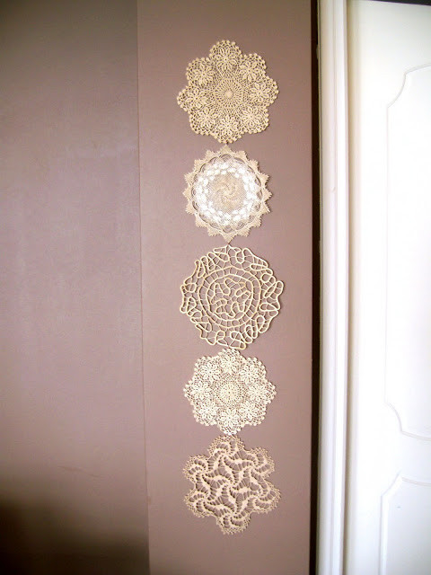 Dishfunctional Designs Vintage Lace & Doilies Upcycled