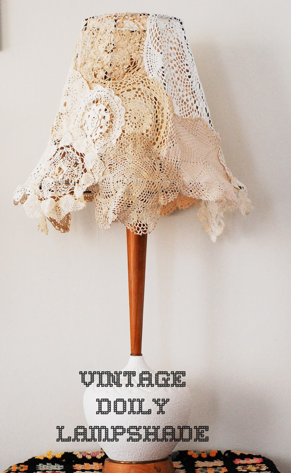 Vintage Doilies Awesome Maize Hutton Vintage Doily Lampshade Diy Of Superb 47 Images Vintage Doilies