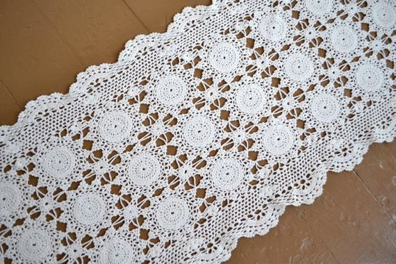 Vintage Doilies Beautiful Vintage Crochet Doily Handmade Doily Table Runner Of Superb 47 Images Vintage Doilies