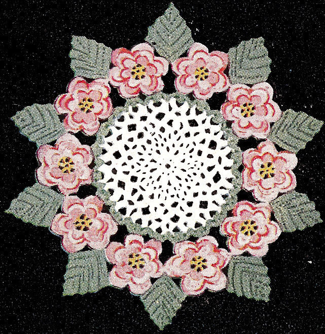 Vintage Doilies New Vintage Crochet Pattern to Make Irish Rose Flower Leaf Of Superb 47 Images Vintage Doilies