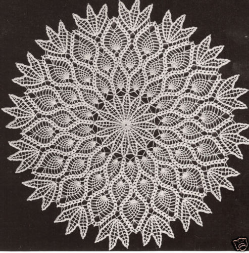 Vintage Doilies New Vintage Crochet Pattern to Make Pineapple Design Doily Of Superb 47 Images Vintage Doilies