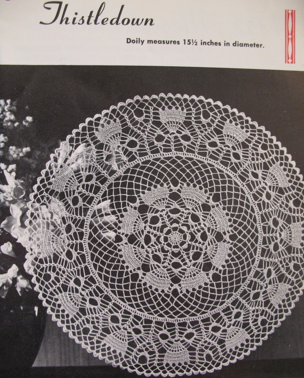 Vintage Doilies New Vintage Doilies Doily Crochet Knit Tat Pattern Booklet Of Superb 47 Images Vintage Doilies