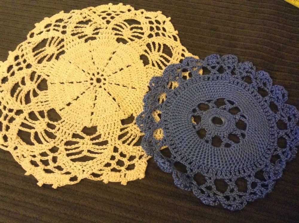 Vintage Doilies Unique N2 Vintage Crocheted Doily Pair Centerpiece Doilies Of Superb 47 Images Vintage Doilies