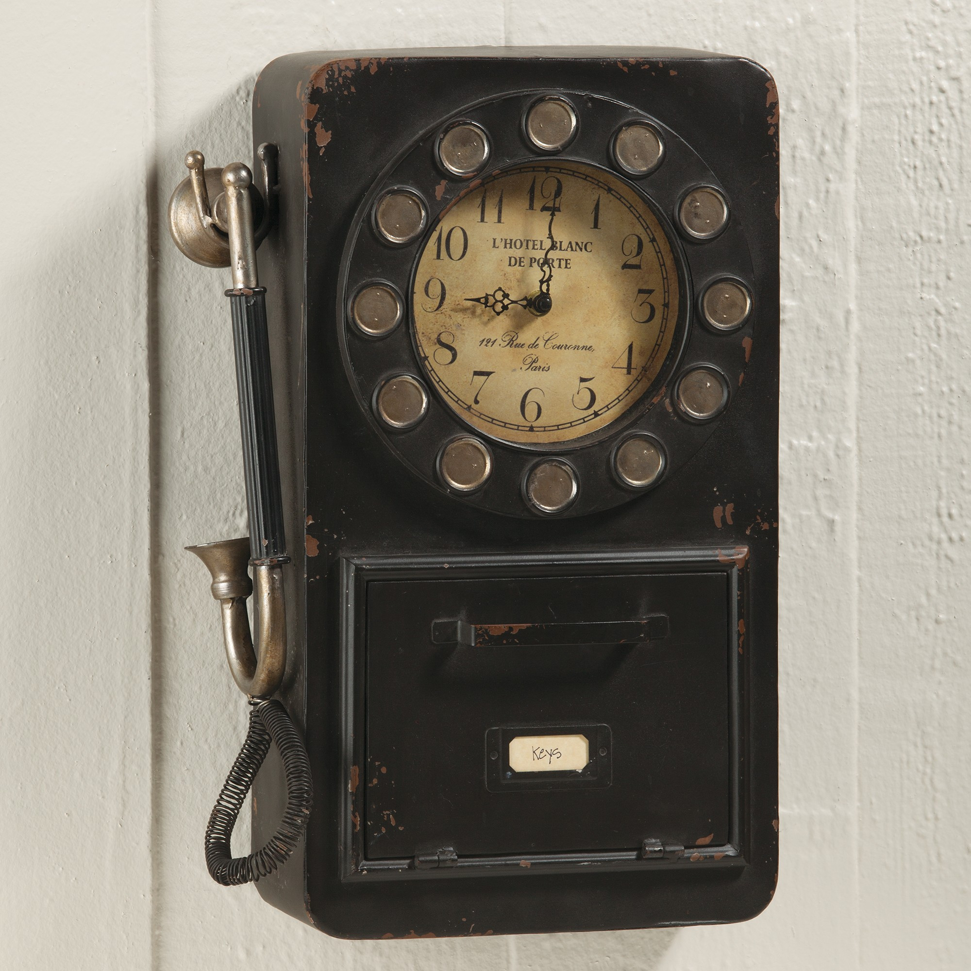 Vintage Wall Phone New Antique Style Wall Phone Clock Of Unique 42 Pictures Vintage Wall Phone