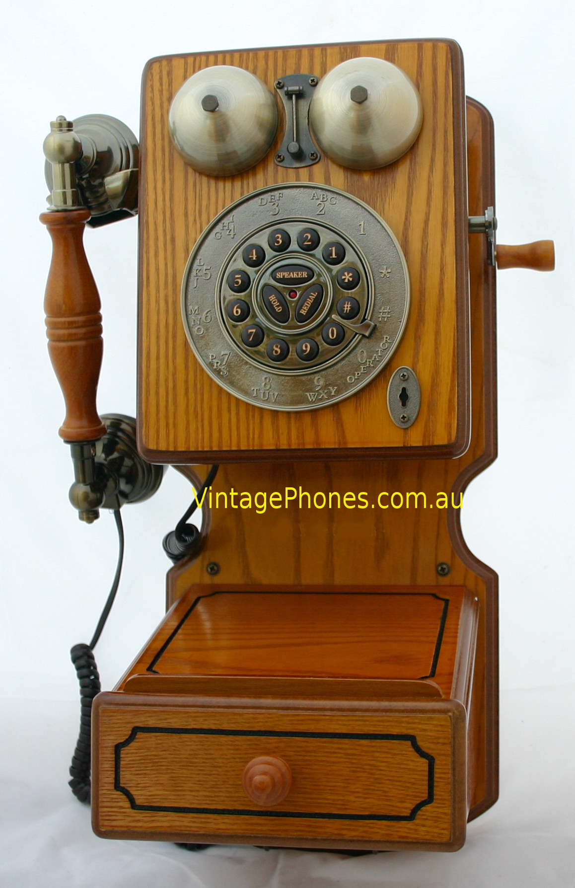 Vintage Wall Phone Unique New Reproduction Wooden Vintage Retro Rotary Dial Wallphone Of Unique 42 Pictures Vintage Wall Phone
