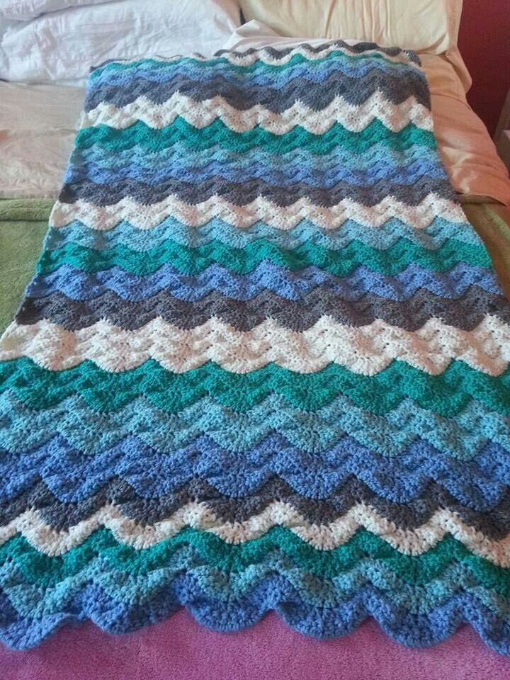 Wave Crochet Pattern Free Fresh Free Crochet Afghan Patterns Waves Dancox for Of Perfect 43 Pics Wave Crochet Pattern Free