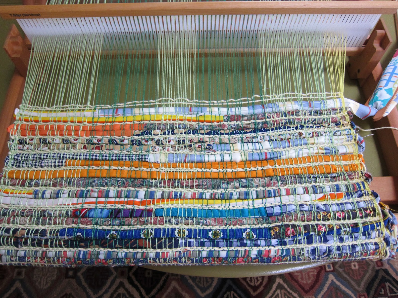 Weaving Loom Awesome Thinking Out Loud Weaving A Rag Rug On the Rigid Heddle Loom Of Attractive 45 Models Weaving Loom