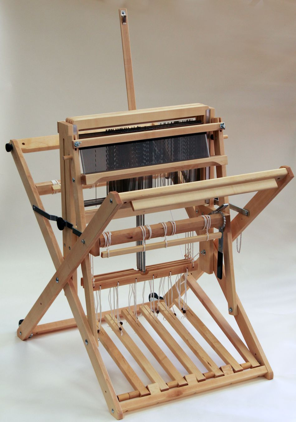 "Weaving Loom Lovely Schacht 18"" 4 Shaft Wolf Pup Lt Loom Weaving Equipment Of Attractive 45 Models Weaving Loom"