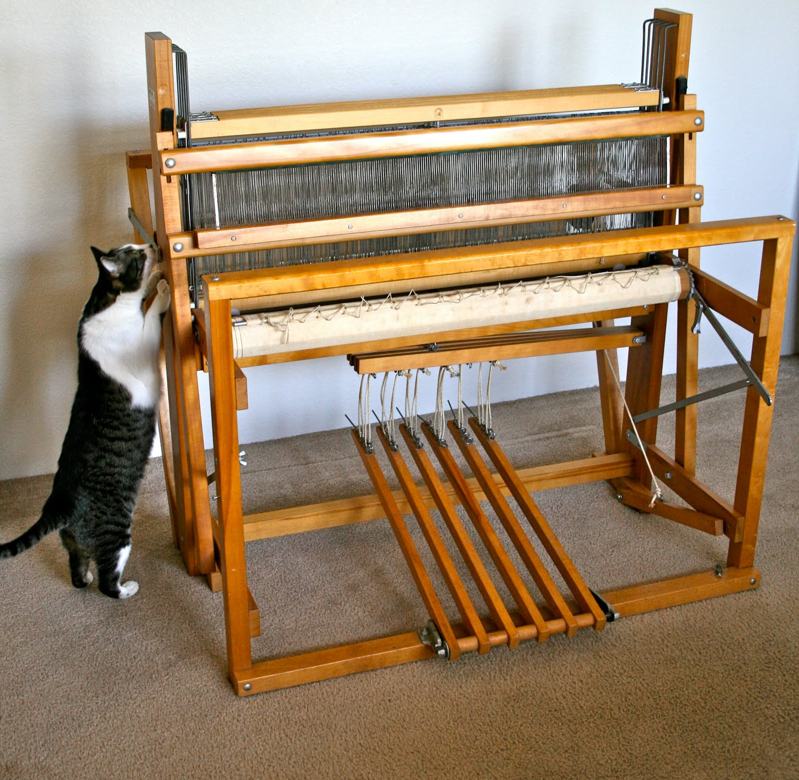 "Weaving Loom Luxury Aunt Nancy S Handmade soap Nilus Leclerc 36"" 4 Harness Of Attractive 45 Models Weaving Loom"
