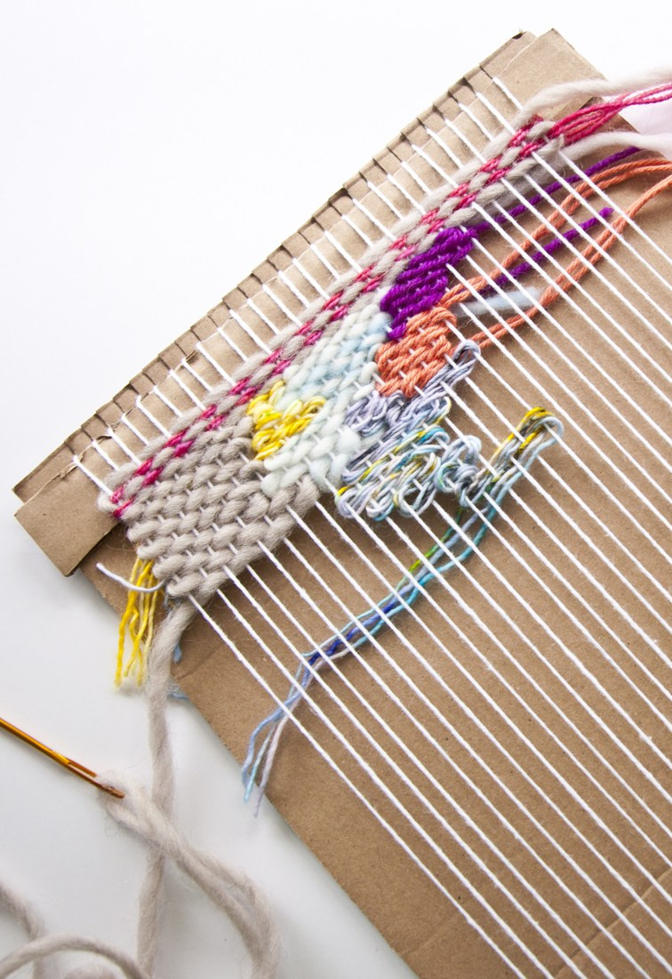 Weaving Patterns Best Of How to Make A Cardboard Loom Of Amazing 49 Photos Weaving Patterns