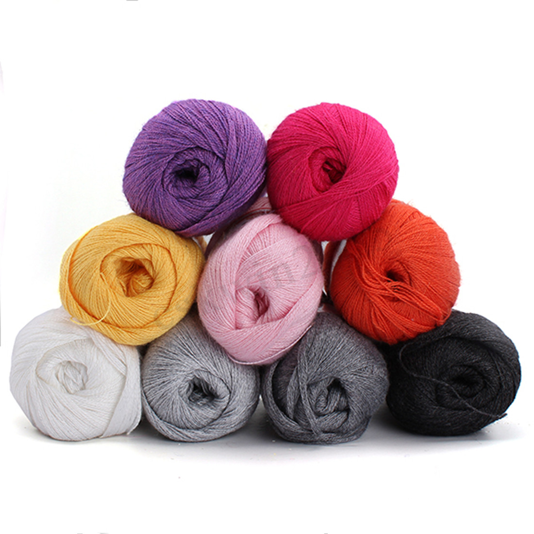 Cashmere Skein Weaving Wool Knitting Yarn Crocheting
