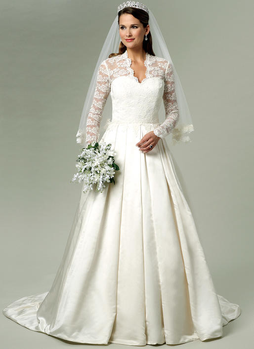 Wedding Dress Patterns Awesome B5731 Of Incredible 44 Images Wedding Dress Patterns