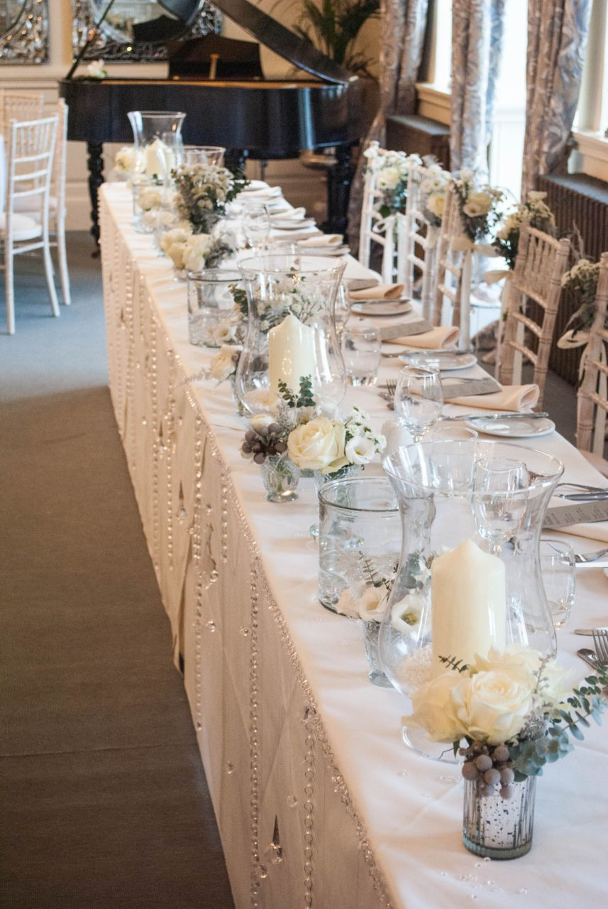 Wedding Table Decorations Awesome Winter Wedding Flowers at Eaves Hall Of Delightful 41 Ideas Wedding Table Decorations