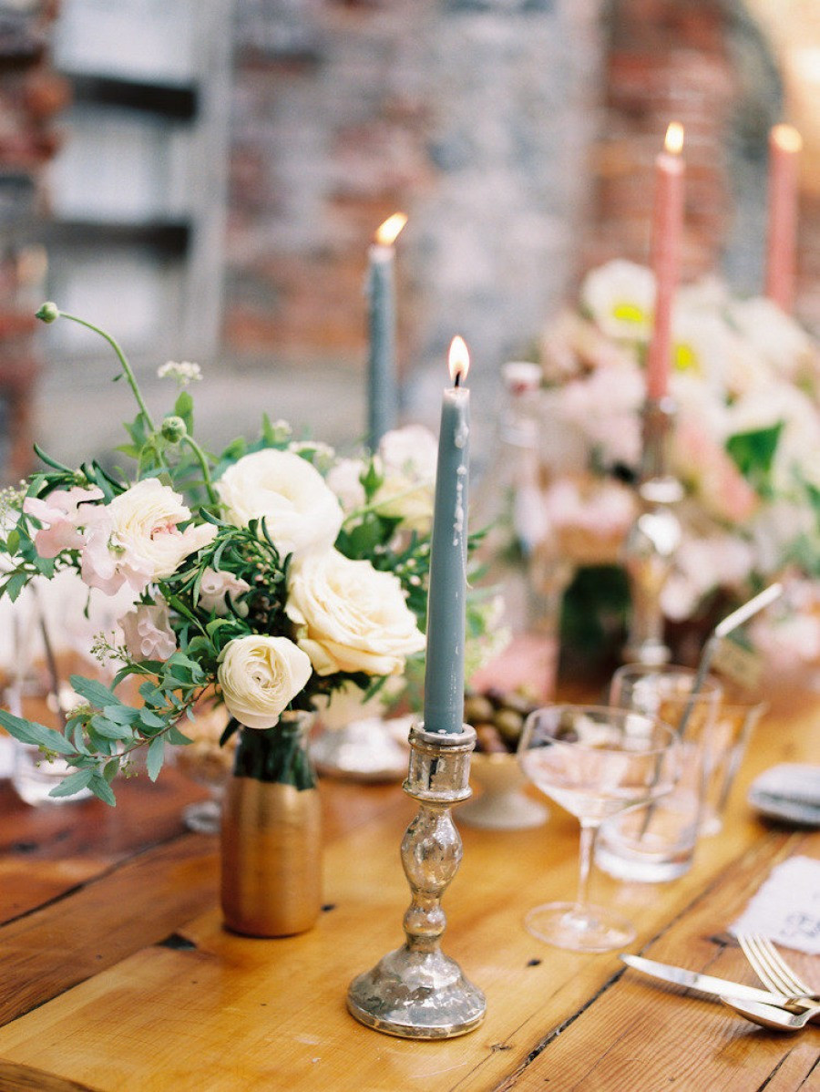 styled new york wedding inspiration at salvato mill from firefly events
