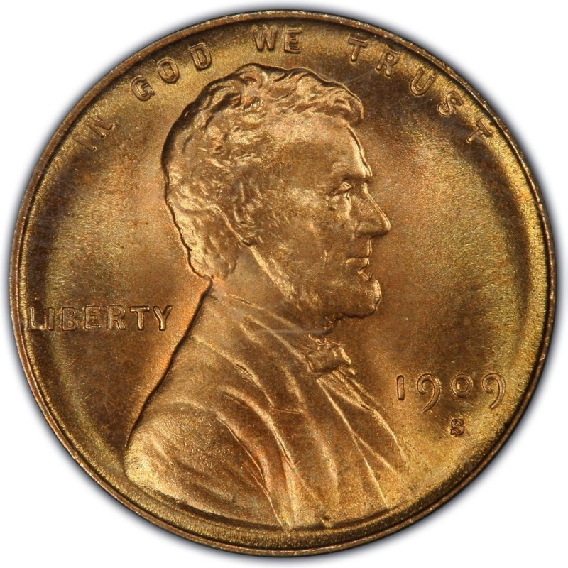 Wheat Penny Value Beautiful 1909 Lincoln Wheat Pennies Values and Prices Past Sales Of Superb 40 Pictures Wheat Penny Value
