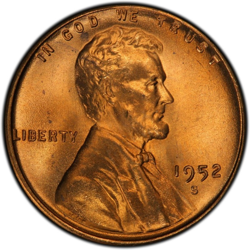 Wheat Penny Value Beautiful 1952 Lincoln Wheat Pennies Values and Prices Past Sales Of Superb 40 Pictures Wheat Penny Value