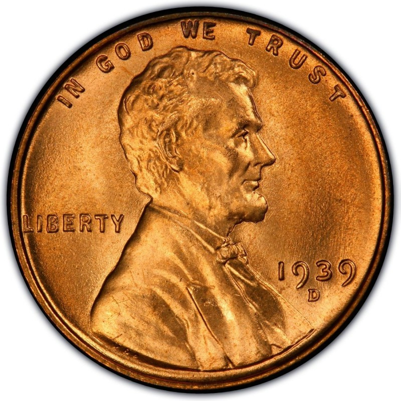 1939 Lincoln Wheat Pennies Values and Prices Past Sales
