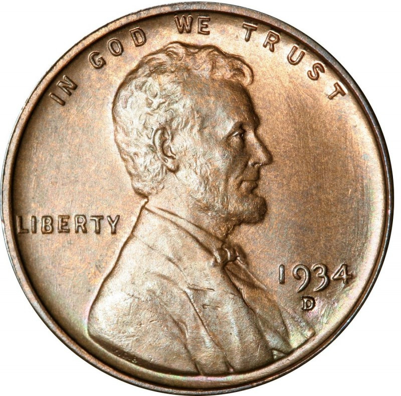 Wheat Penny Value Elegant 1934 Lincoln Wheat Penny Values and Prices Past Sales Of Superb 40 Pictures Wheat Penny Value