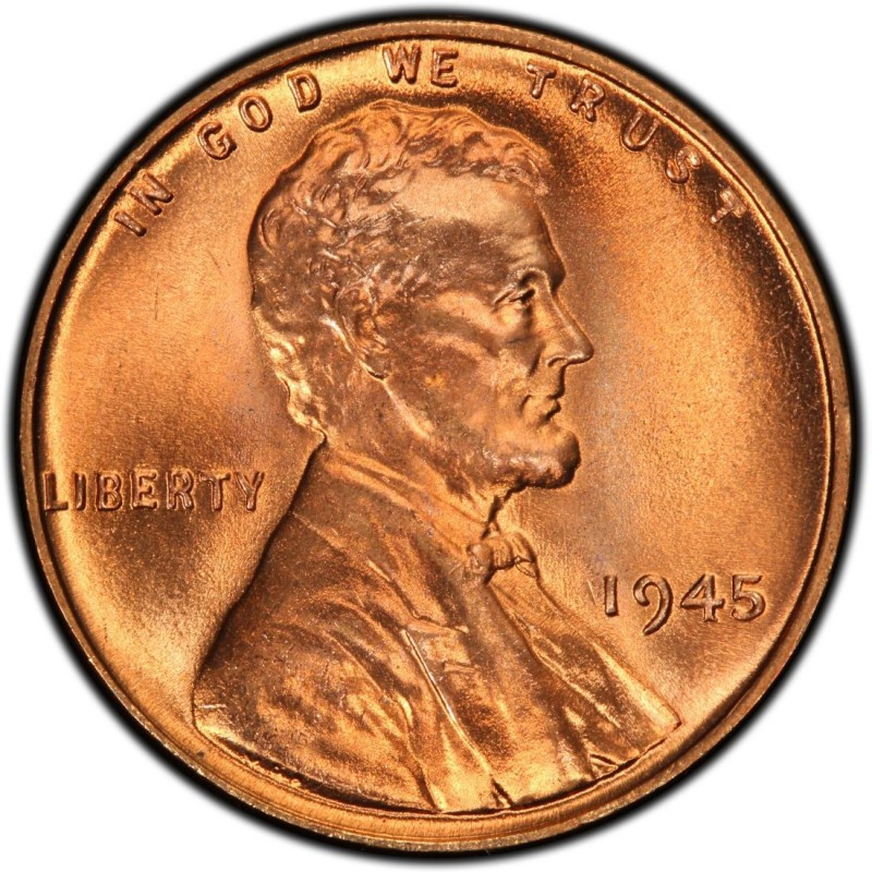 Wheat Penny Value Elegant 1945 Lincoln Wheat Pennies Values and Prices Past Sales Of Superb 40 Pictures Wheat Penny Value
