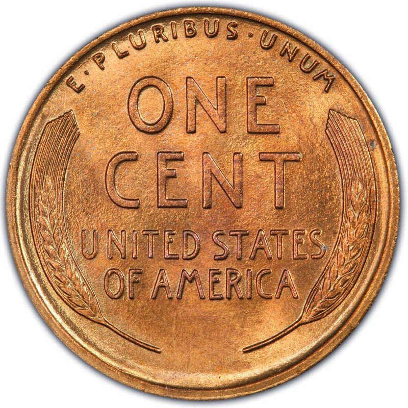 Wheat Penny Value Luxury 1919 Lincoln Wheat Pennies Values and Prices Past Sales Of Superb 40 Pictures Wheat Penny Value