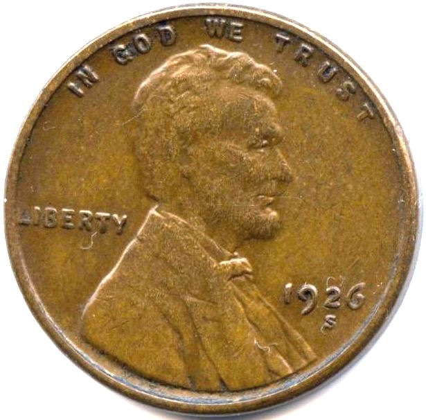 e Cent values United States penny Lincoln wheat Pg 3