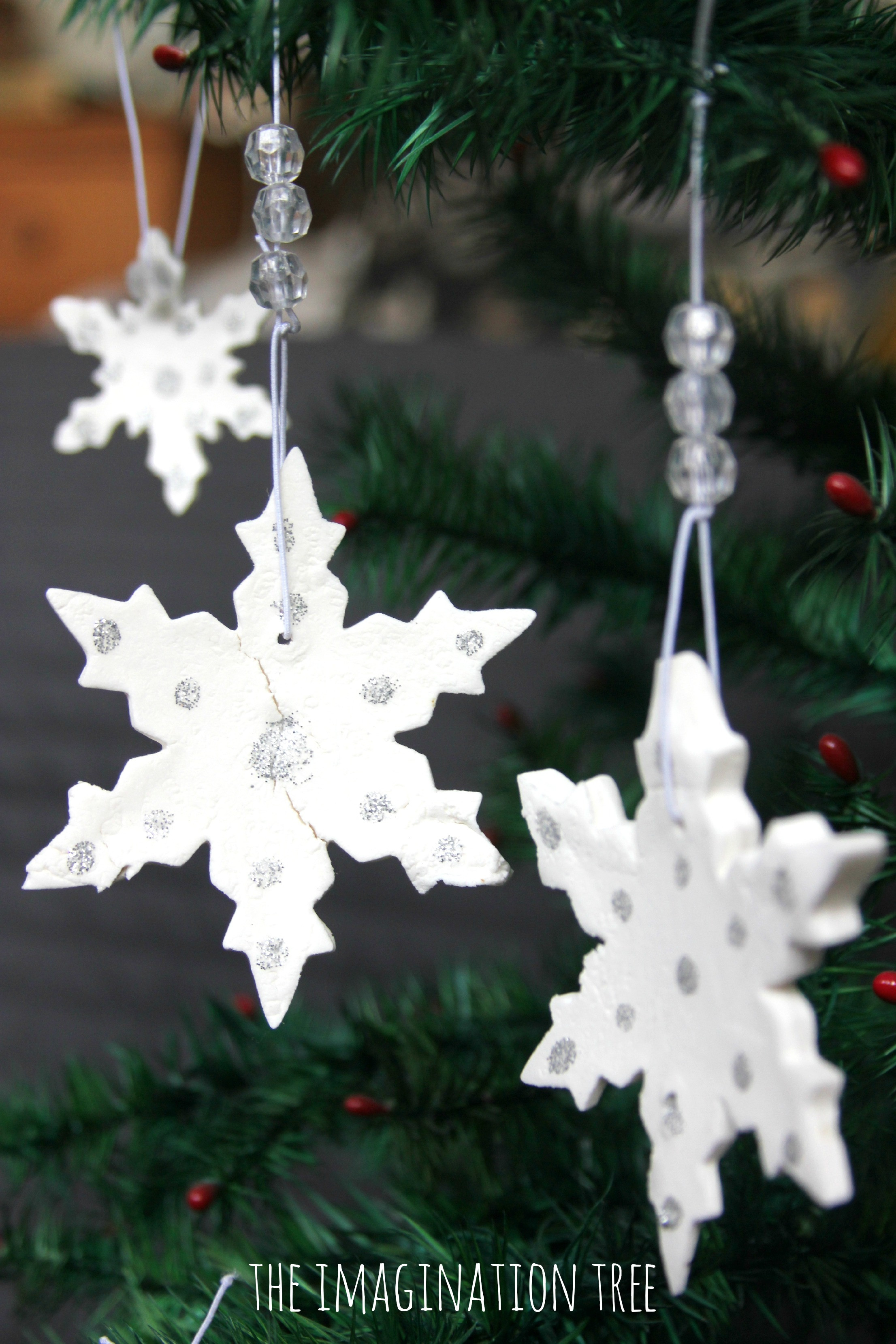 White Christmas ornaments Best Of White Clay Snowflake ornaments the Imagination Tree Of Attractive 44 Images White Christmas ornaments
