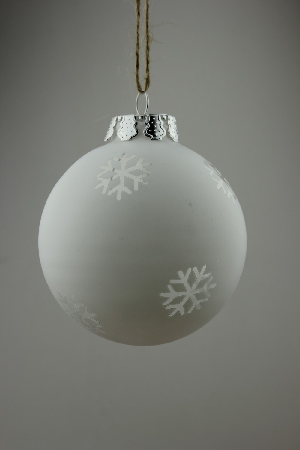 White Christmas ornaments Luxury Aliexpress Buy New Dia8cm Frosted White Christmas Of Attractive 44 Images White Christmas ornaments