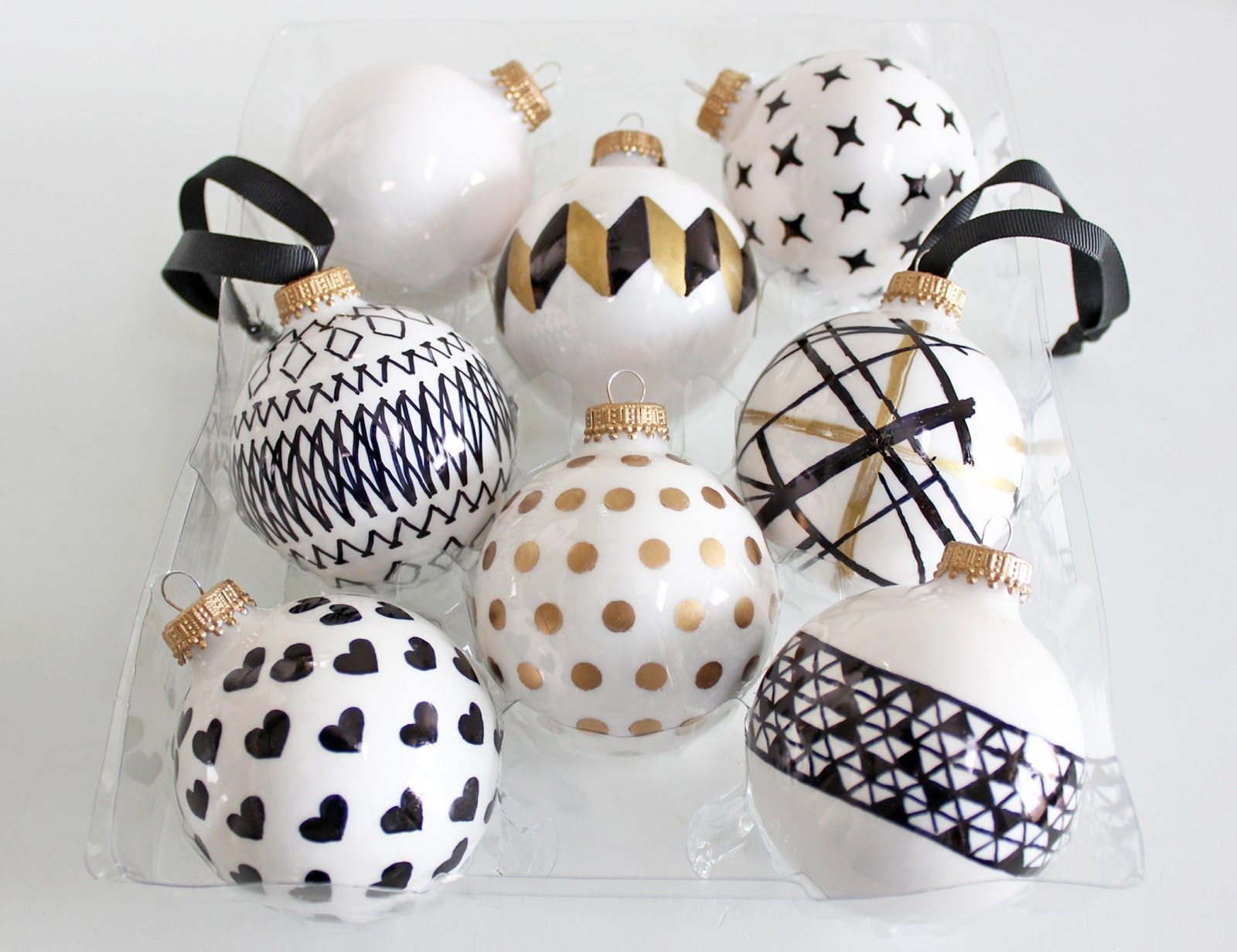 White Christmas ornaments Luxury Am Dolce Vita Diy Handpainted Holiday Ball ornaments Diy Of Attractive 44 Images White Christmas ornaments