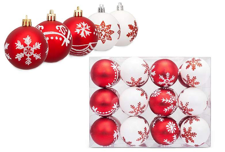 White Christmas Tree Balls Beautiful top 10 Best Christmas Balls for Your Tree 2017 Of Awesome 48 Models White Christmas Tree Balls