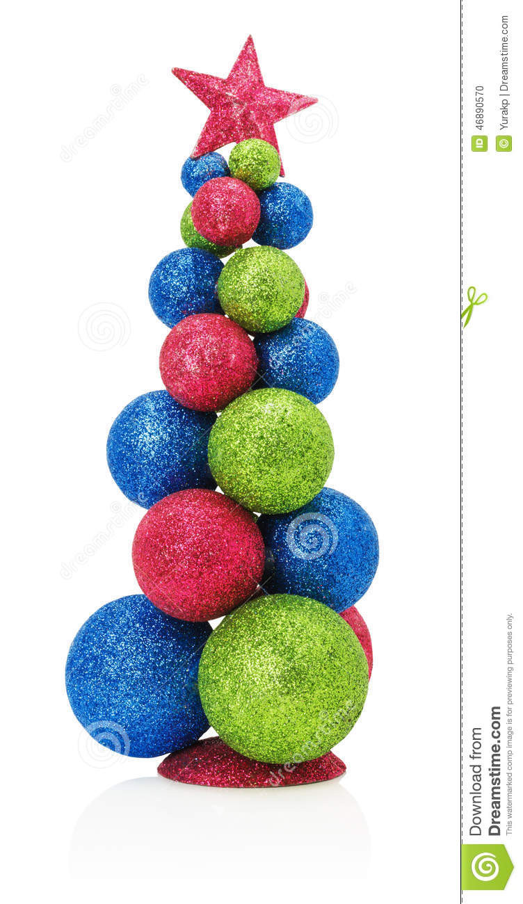 White Christmas Tree Balls Fresh Christmas Tree with Balls isolated the White Background Of Awesome 48 Models White Christmas Tree Balls