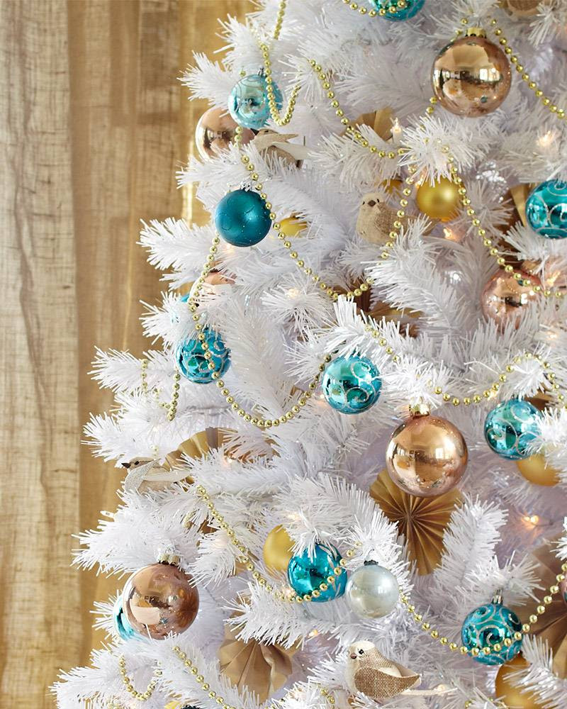 White Christmas Tree Balls Fresh Winter White Artificial Christmas Tree Of Awesome 48 Models White Christmas Tree Balls