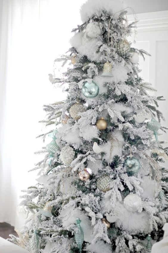 White Christmas Tree Balls Lovely 33 Chic White Christmas Tree Decor Ideas Digsdigs Of Awesome 48 Models White Christmas Tree Balls
