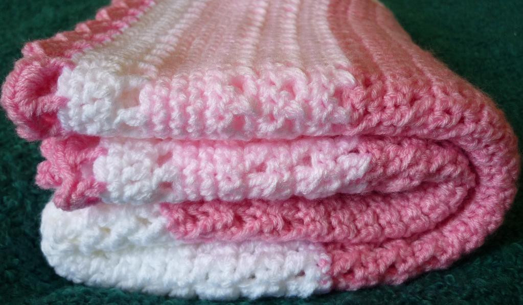 White Crochet Blanket New You Have to See Pink and White Crochet Lace Baby Blanket Of Fresh 45 Pics White Crochet Blanket