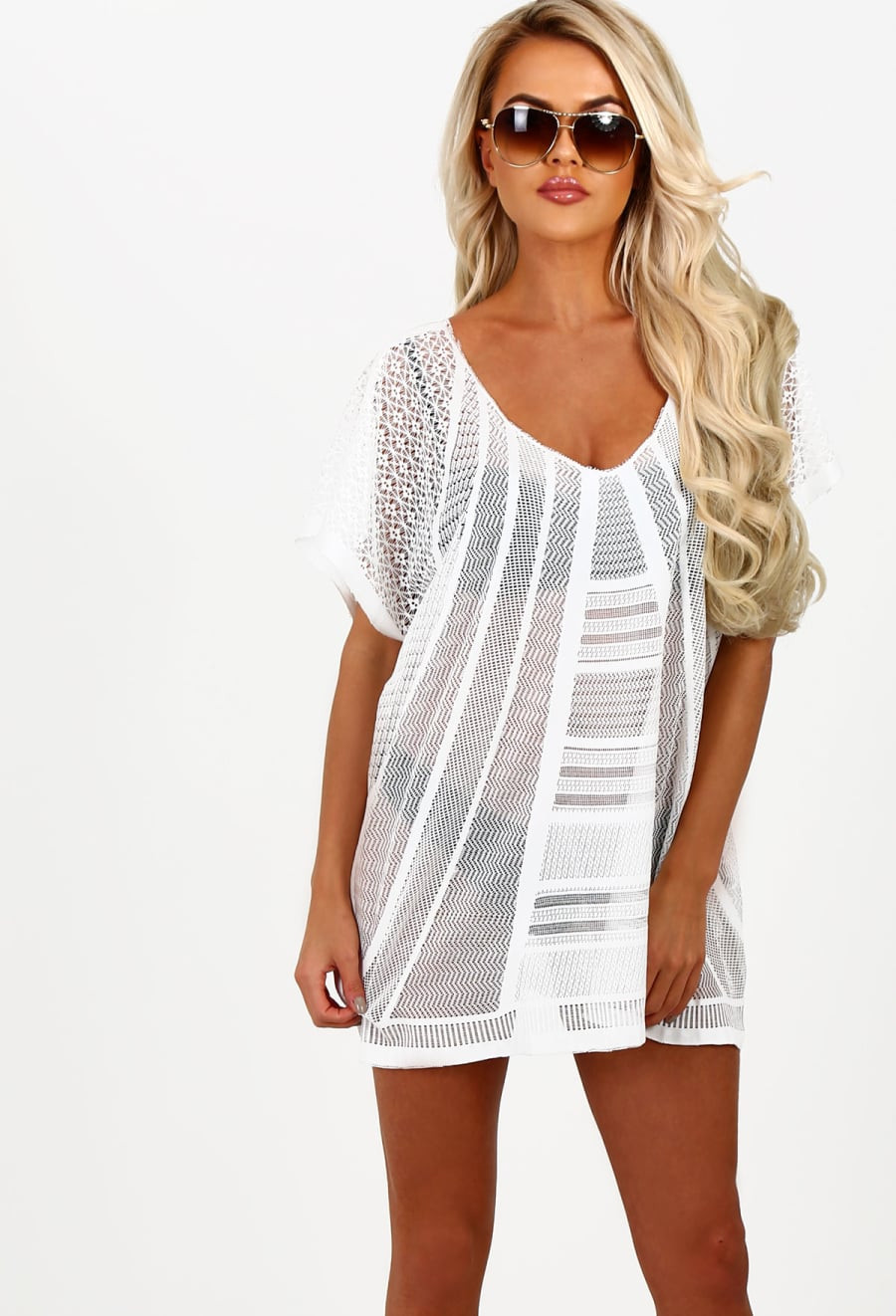 White Crochet Coverup Elegant Paros White Crochet Beach Cover Up Of Unique 50 Models White Crochet Coverup