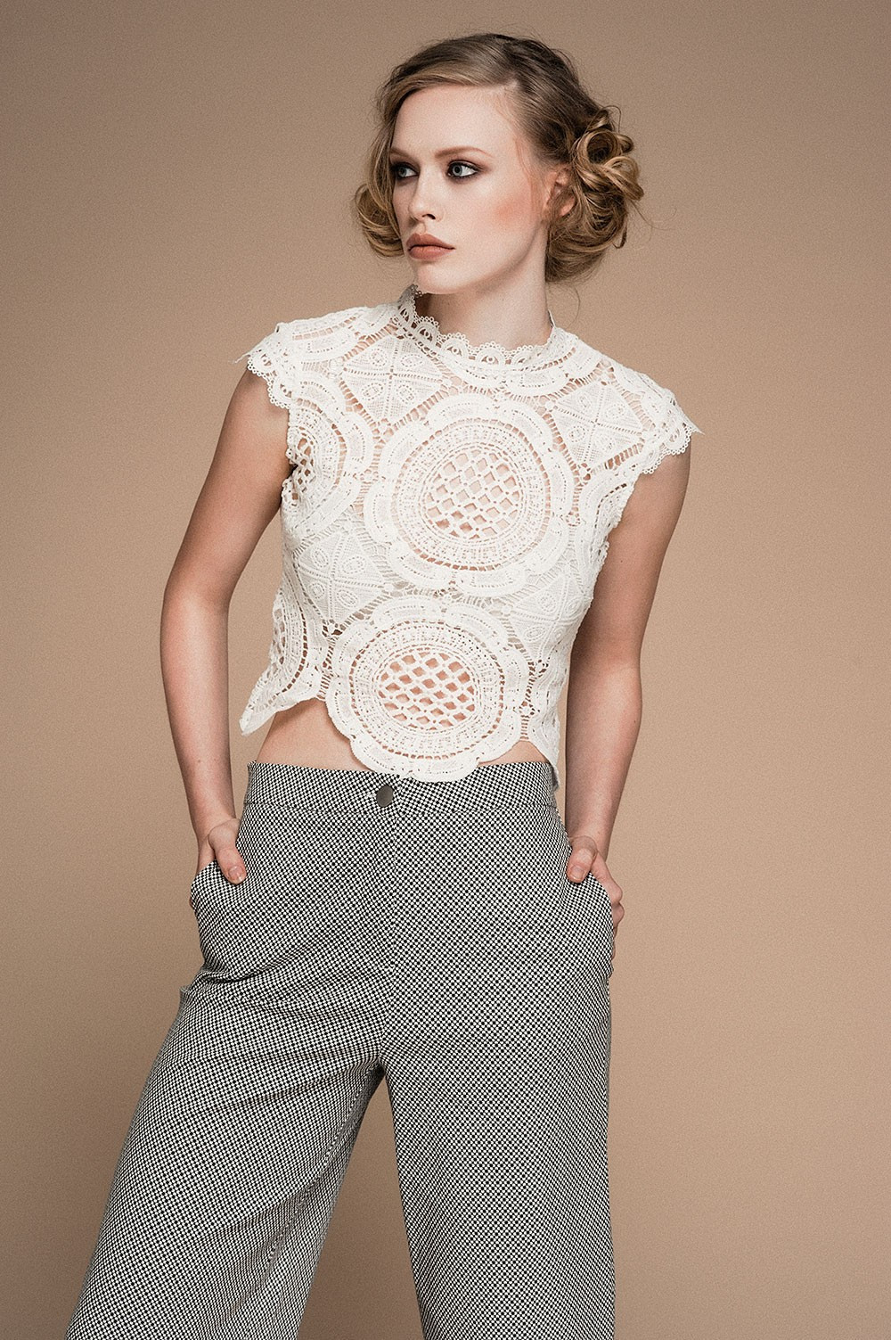 White Crochet Crop tops Elegant Glamorous Lousie Crochet Crop top In White Of Gorgeous 46 Pics White Crochet Crop tops